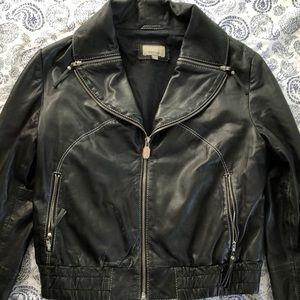 Prüne leather jacket